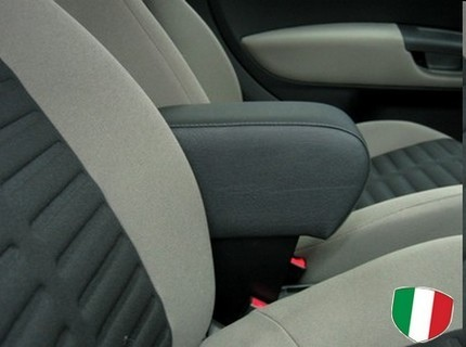 Adjustable armrest with storage for Alfa Romeo Mito (2008-2013)