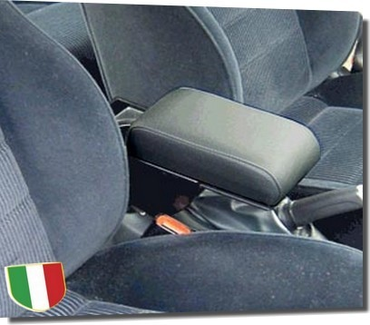 Accoudoir réglable en longueur avec porte-objet pour Alfa Romeo 147 (jusqu'en 2004)