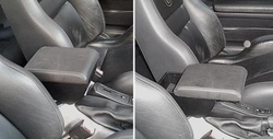Adjustable armrest with storage for Alfa Romeo GTV Phase 1