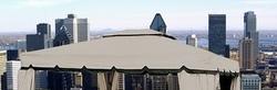 Telone pesante impermeabile beige telo di ricambio con bordo per gazebo gazebi mt. 3 x 4 in poliestere impermeabile ROMA34 con camino
