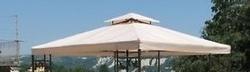 Telo ricambio per Gazebo quadro 3 x 3 copertura impermeabile 3 x 3 modello COP 035