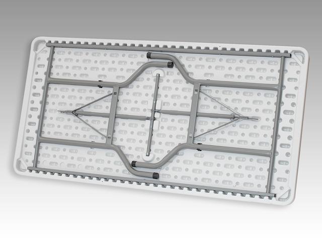 Tavolo FISSO rettangolare 183 x 76 x 74 per catering sagre mercatini buffet riunione PEZZO UNICO LISCIO