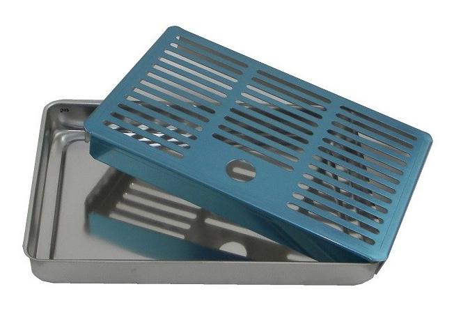 Vaschetta raccogligocce per rubinetti spina e a colonna.