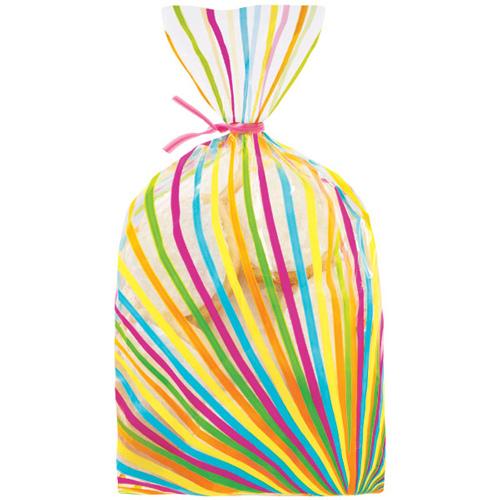 conf. 20 sacchetti per dolcetti multicolore Wilton