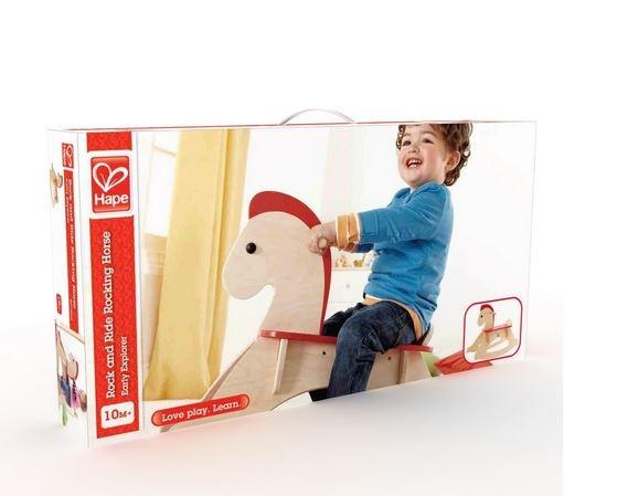 Cavallino a Dondolo in Legno per Bambini di Hape - Offerta