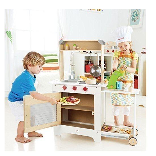 cucina cuoci e servi per bambini in legno hape offerta