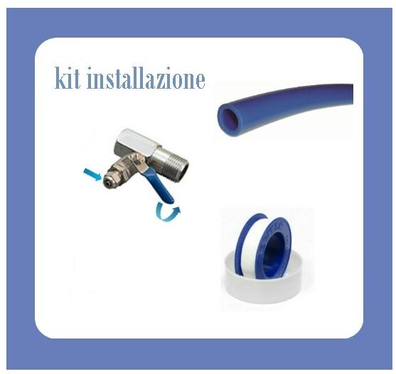 Depuratore con Ultrafiltrazione Absolute con rubinetto una via.
