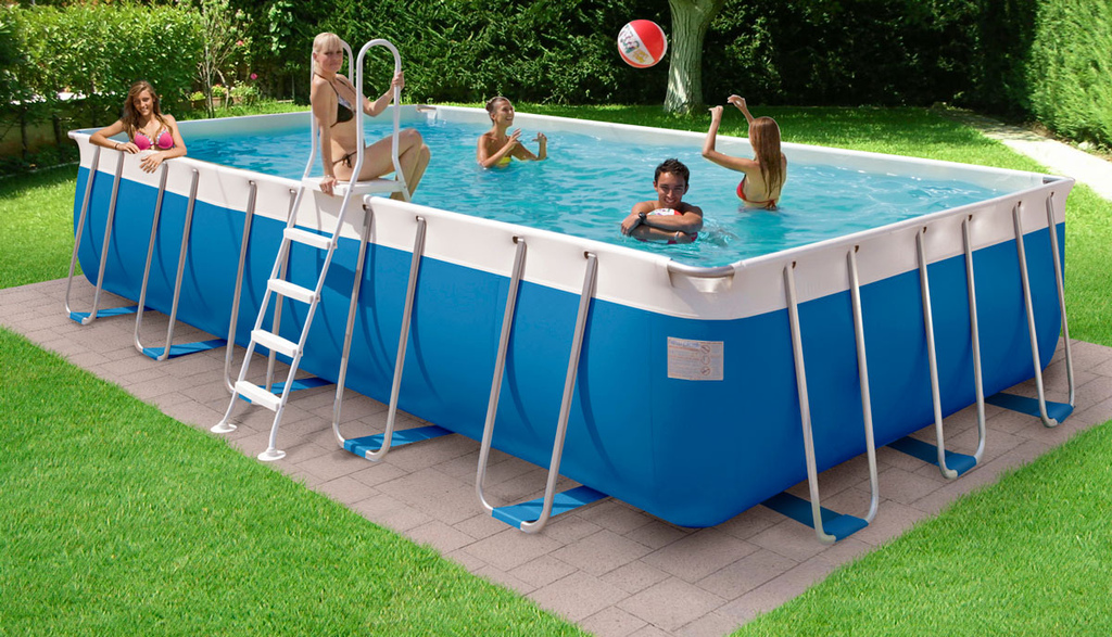 sopra terra piscina filtro di sabbia hook up