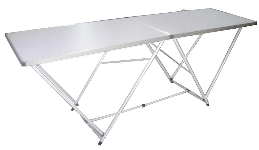 Tavoli Pieghevoli Da Mercatino.Tavolo Pieghevole 200 X 60 In Alluminio Per Mercatini Buffet Lavoro