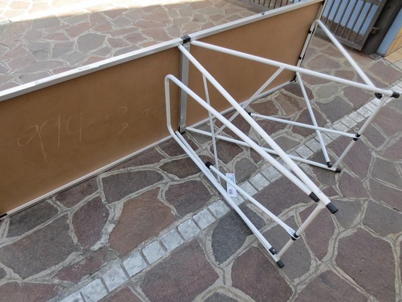 Tavoli Pieghevoli Per Ambulanti.Tavolo Pieghevole 200 X 60 In Alluminio Per Mercatini Buffet Lavoro