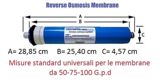 Membrane Osmosi Inversa 50 GPD Filmtec