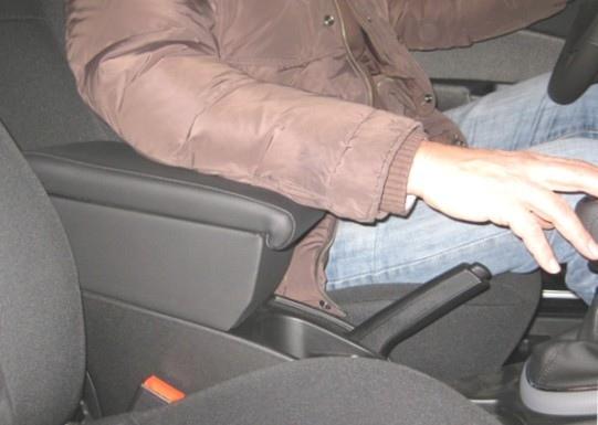 Bracciolo con portaoggetti per Fiat Bravo (dal 2007)