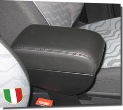 Adjustable armrest with storage for Audi A2