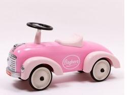 """Cavalcabile in Metallo """"Rosa"""" per Bambini della Linea Speedsters di Baghera 882"""