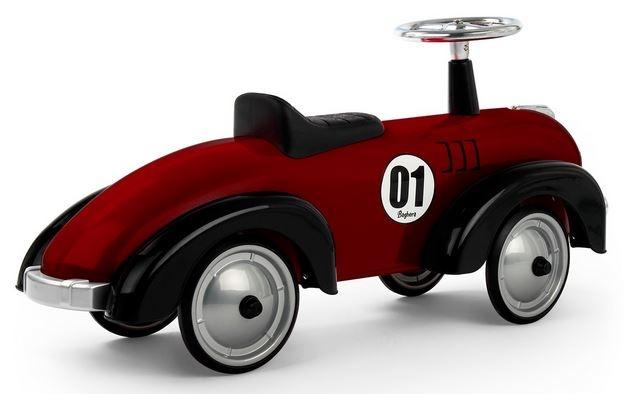 """Cavalcabile in Metallo """"Dark Red"""" per Bambini della Linea Speedsters di Baghera"""