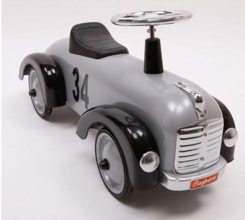 """Cavalcabile in Metallo """"Silver"""" per Bambini della Linea Speedsters di Baghera 870"""