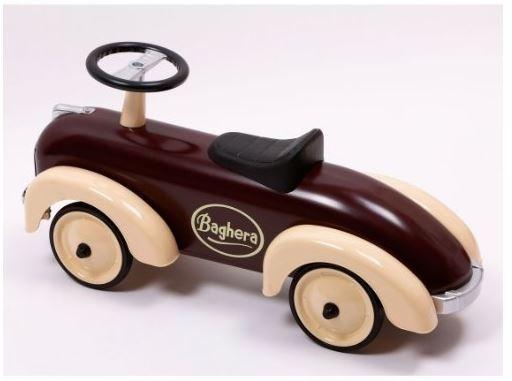 """Cavalcabile in Metallo """"Cioccolato"""" per Bambini della Linea Speedsters di Baghera 884"""