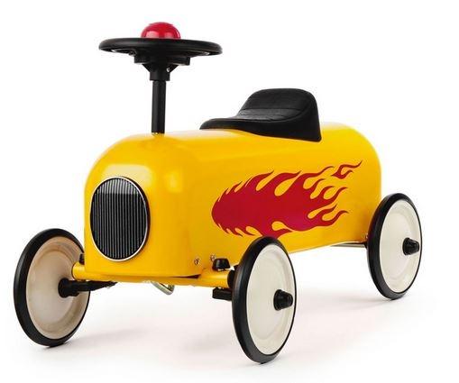 """Cavalcabile in Metallo """"Fiamma"""" per Bambini della Linea I Racers di Baghera 806"""