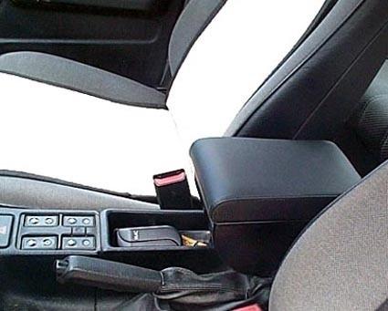 Accoudoir réglable en longueur avec porte-objet pour BMW Série 3 E30
