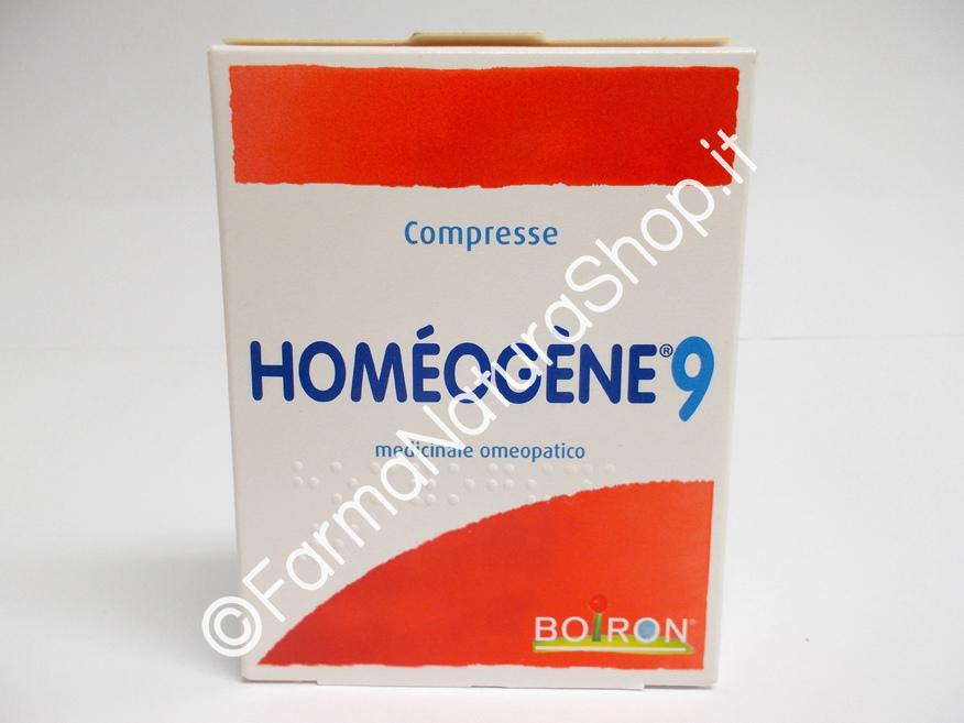 BOIRON - HOMEOGENE 9 COMPRESSE