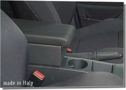 Adjustable armrest with storage for BMW X3