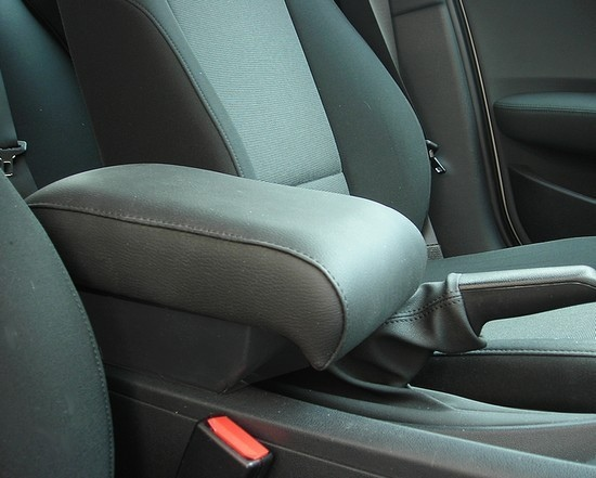 Adjustable armrest with storage for BMW Series 1 E81 - E87