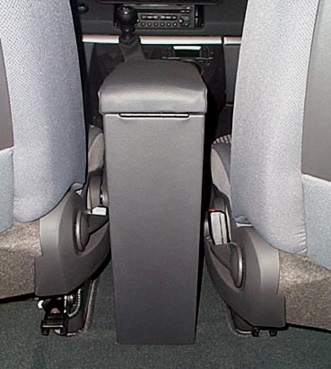 Accoudoir réglable en longueur avec porte-objet pour Peugeot 807