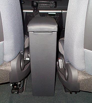 Armrest with storage for Peugeot 807