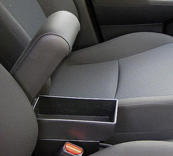 Adjustable armrest with storage for Dacia Duster
