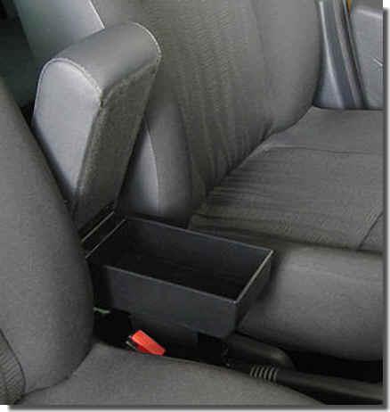 Mittelarmlehne für Daihatsu Cuore (2007>)  in der Länge verstellbaren