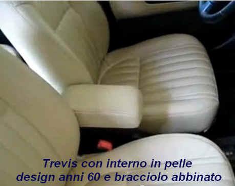 Adjustable armrest with storage for Daihatsu Trevis