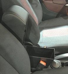 Bracciolo regolabile con portaoggetti per Daihatsu Materia / Sirion (2005>)