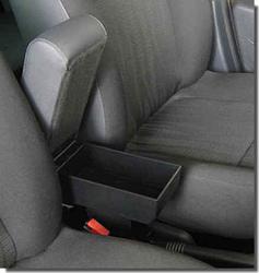 Bracciolo regolabile con portaoggetti per Daihatsu Terios (1997-2005)
