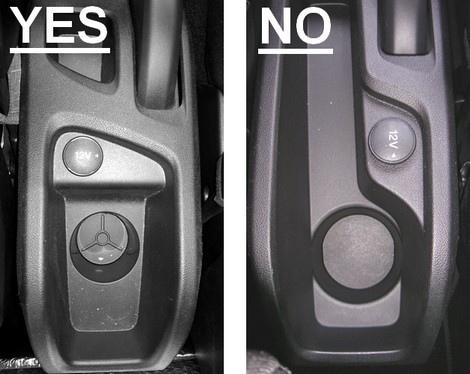 Accoudoir réglable en longueur avec porte-objet pour Ford B-Max