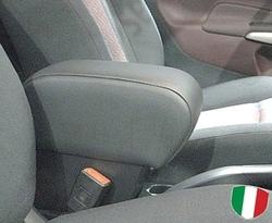 Bracciolo regolabile con portaoggetti per Ford Fiesta MK7 e MK8 (dal 2009)
