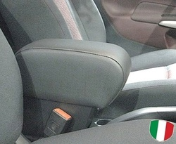 Bracciolo regolabile con portaoggetti per Ford Fiesta (2009-2016)