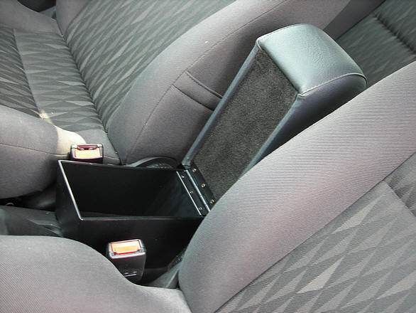 Accoudoir réglable en longueur avec porte-objet pour Ford Focus (1997-2001)