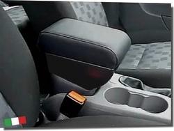 Bracciolo regolabile con portaoggetti per Ford Focus (2005-2011)