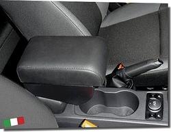 Bracciolo regolabile con portaoggetti per Ford Focus (dal 2013)