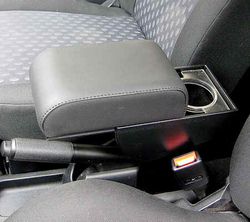 Bracciolo regolabile con portaoggetti per Ford Fiesta (2002-2008) - Fusion