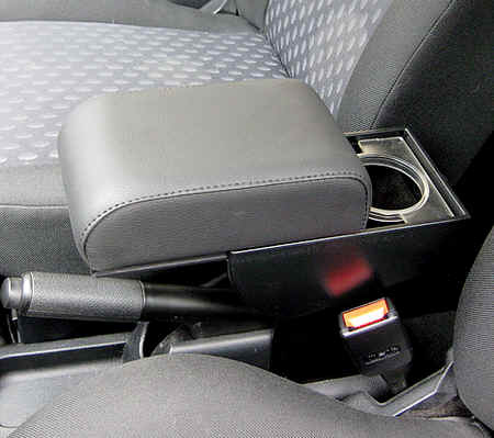 Adjustable armrest with storage for Ford Fiesta (2002-2008) - Fusion