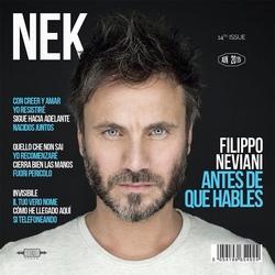 """CD NEK """" ANTES DE QUE HABLES"""" con autografo"""