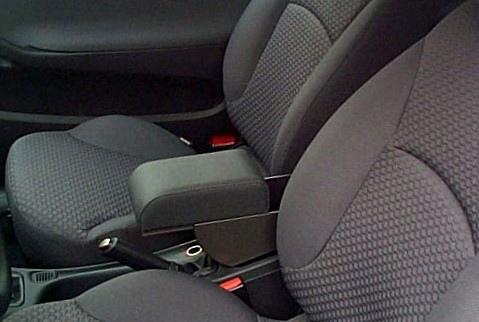 Adjustable armrest with storage for Fiat Stilo