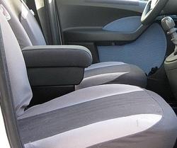 Accoudoir avec porte-objet pour Fiat Panda Classic (2003-2011)