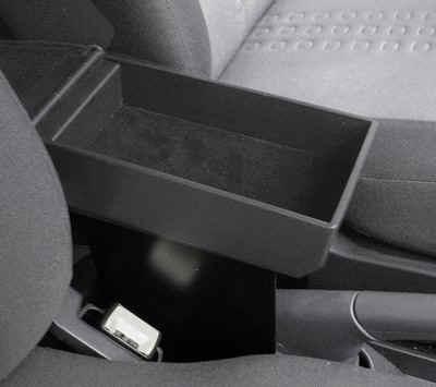 Bracciolo regolabile con portaoggetti per Fiat Panda Classic (2003-2011)