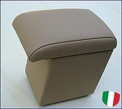 Accoudoir réglable en longueur avec porte-objet pour Fiat Idea