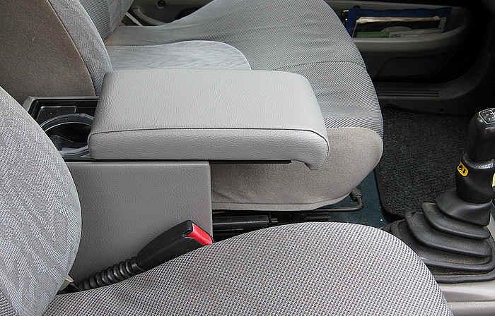 Adjustable armrest with storage for Land Rover Freelander (1998-2000)