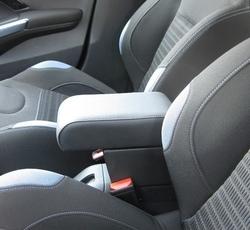Adjustable armrest with storage for Peugeot 208