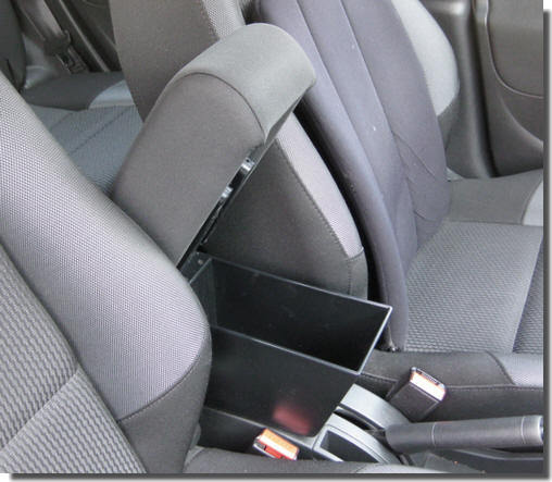 Armrest with storage for Peugeot 207 - 207 CC