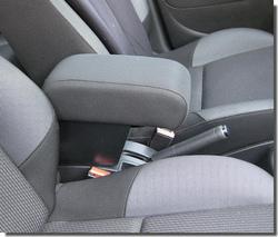 Bracciolo regolabile con portaoggetti per Peugeot 207 - 207 CC